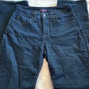 NYDJ Blue Wash Straight Leg Jeans